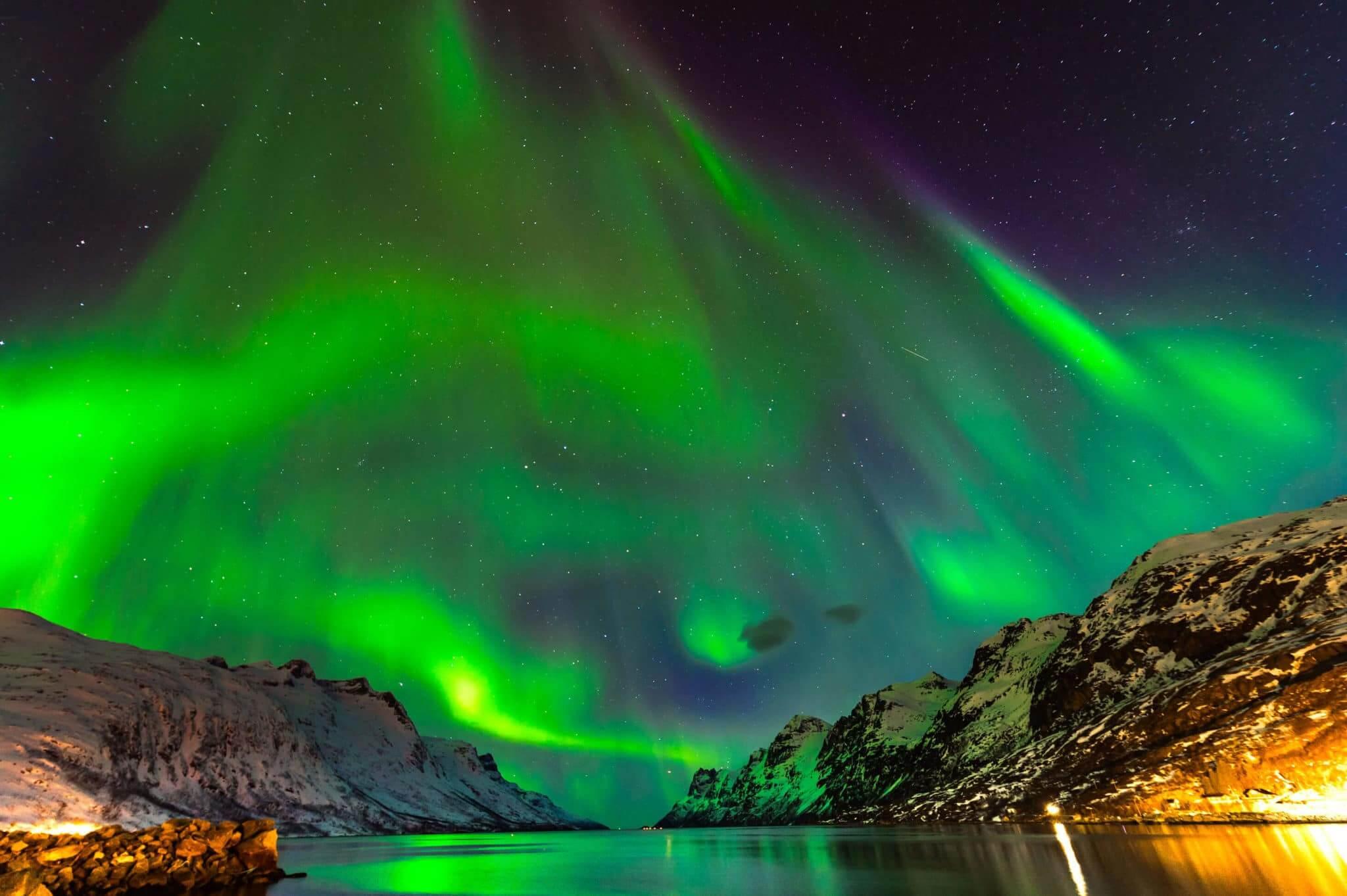 I 5 luoghi per avvistare l'aurora boreale