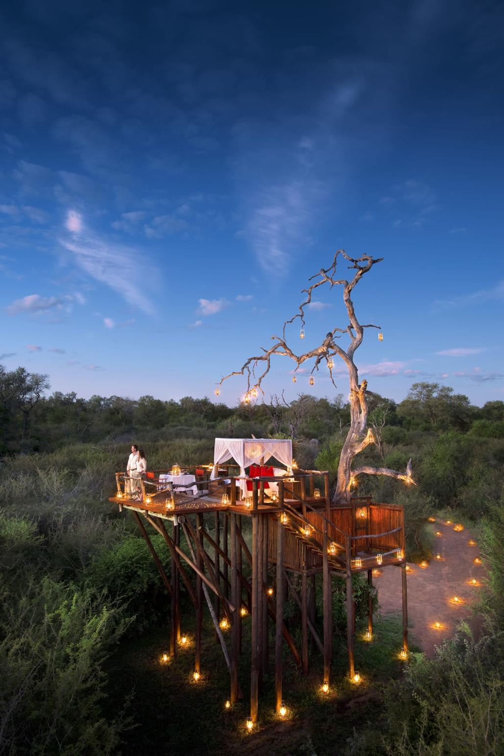 Le più belle case sull'albero in Africa